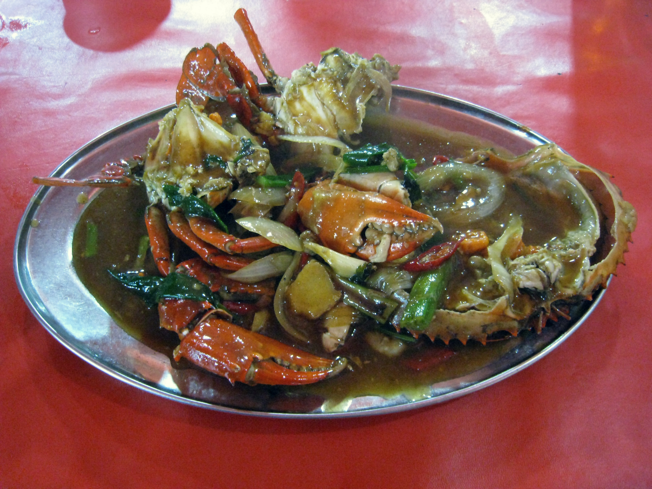 Kepiting Saus Singapore images