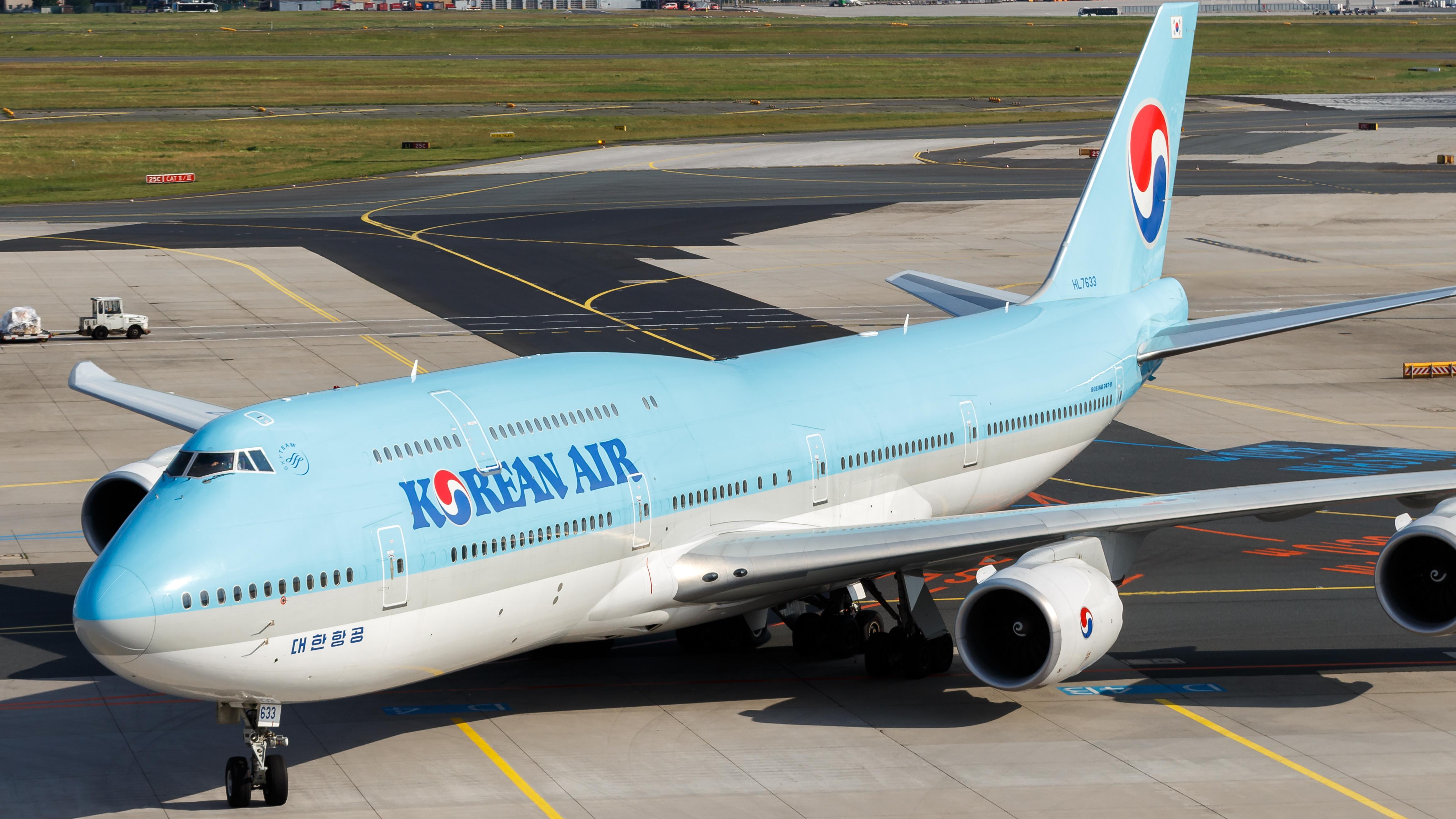 File:Korean Air Lines Boeing 747-8 (HL7633) at Frankfurt