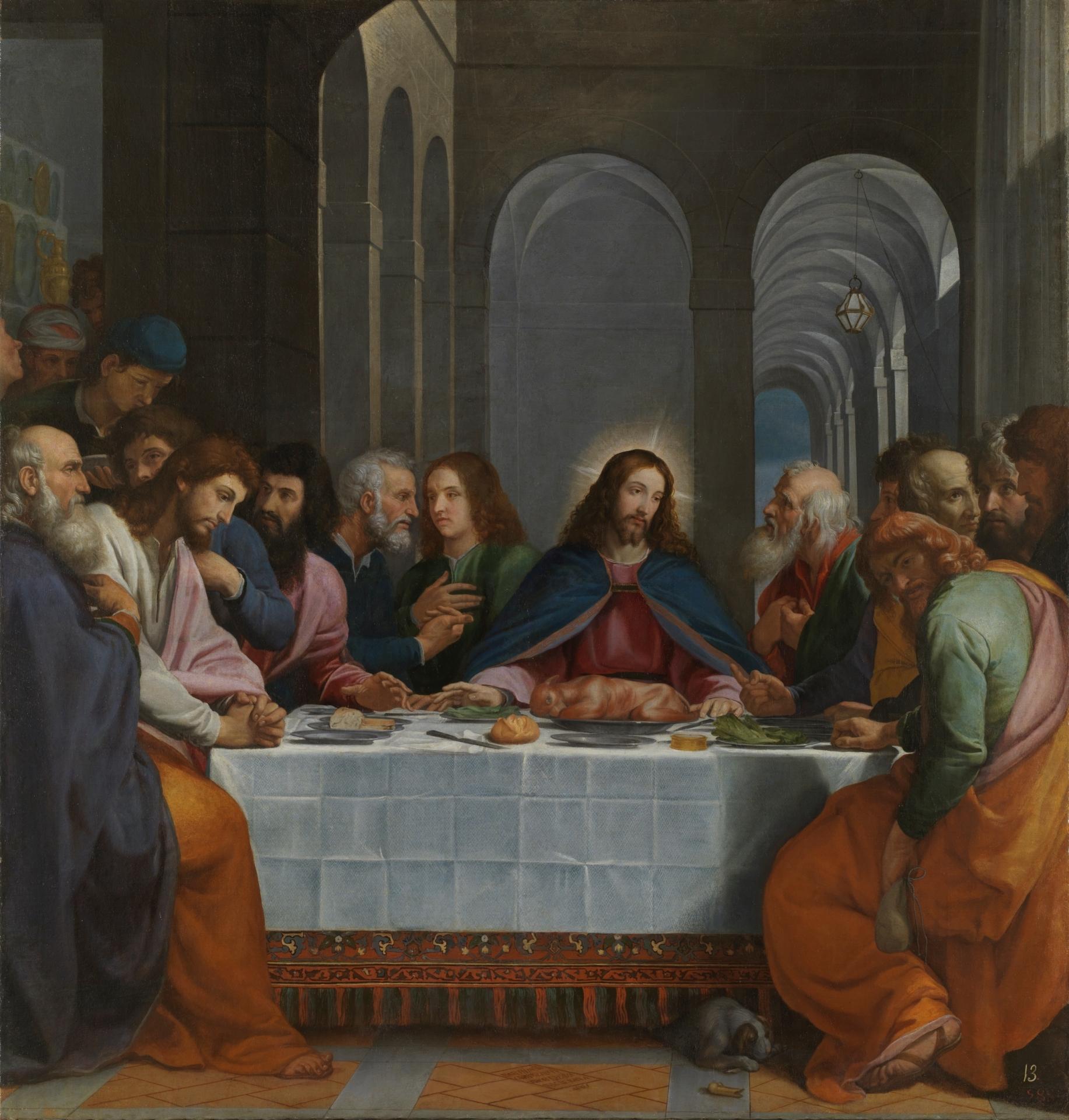 File La última Cena De Bartolomé Carducho Museo Del Prado Jpg Wikipedia