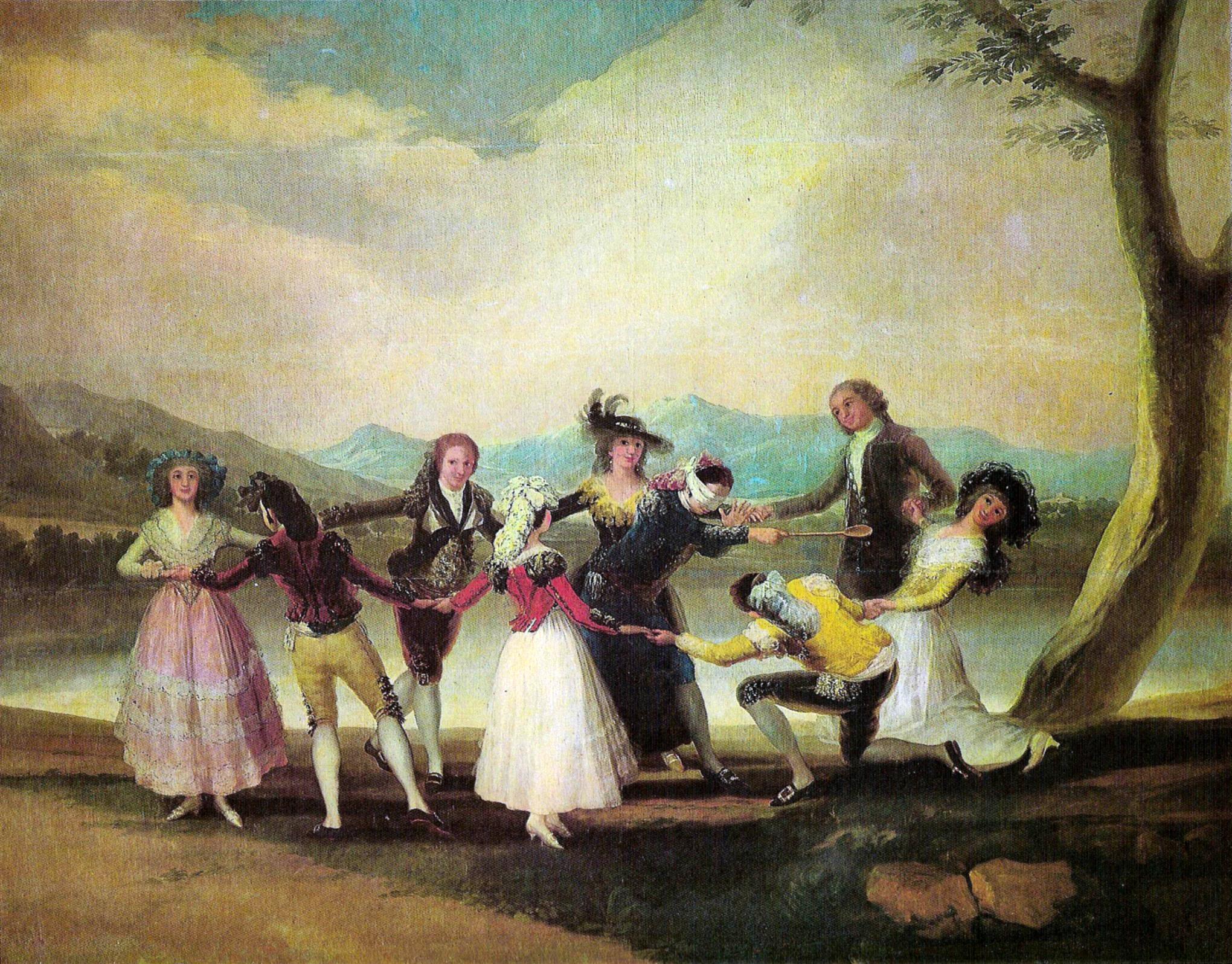 File la gallina ciega goya jpg wikimedia commons - Pintores zaragoza ...