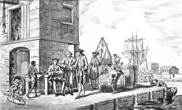 Smallpox inoculation and quarantine in colonial America