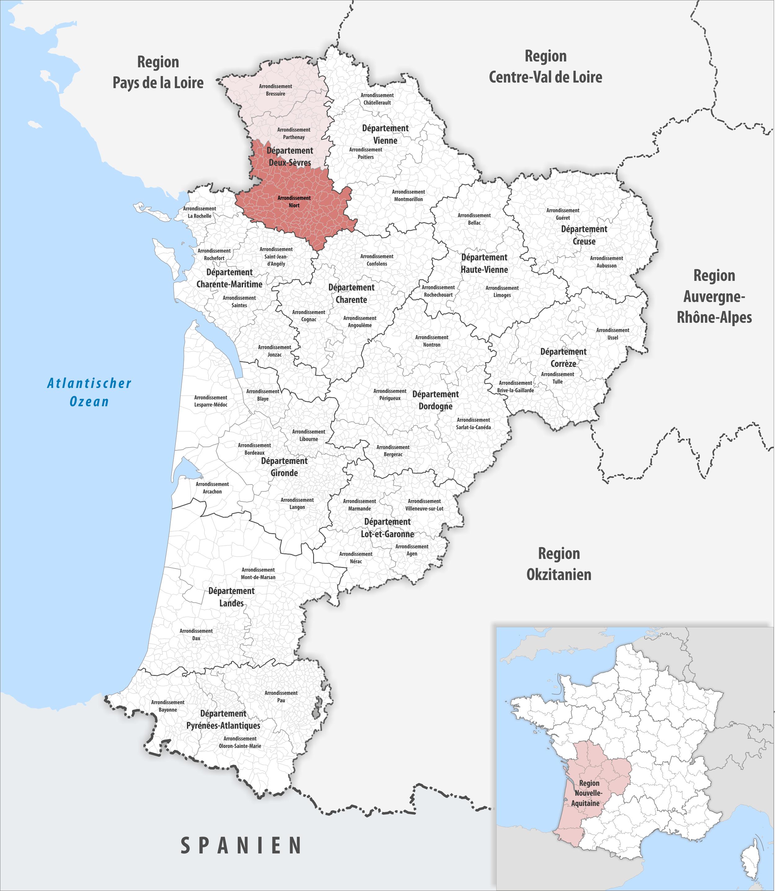 FileLocator map of Arrondissement Niort 2018png Wikimedia Commons