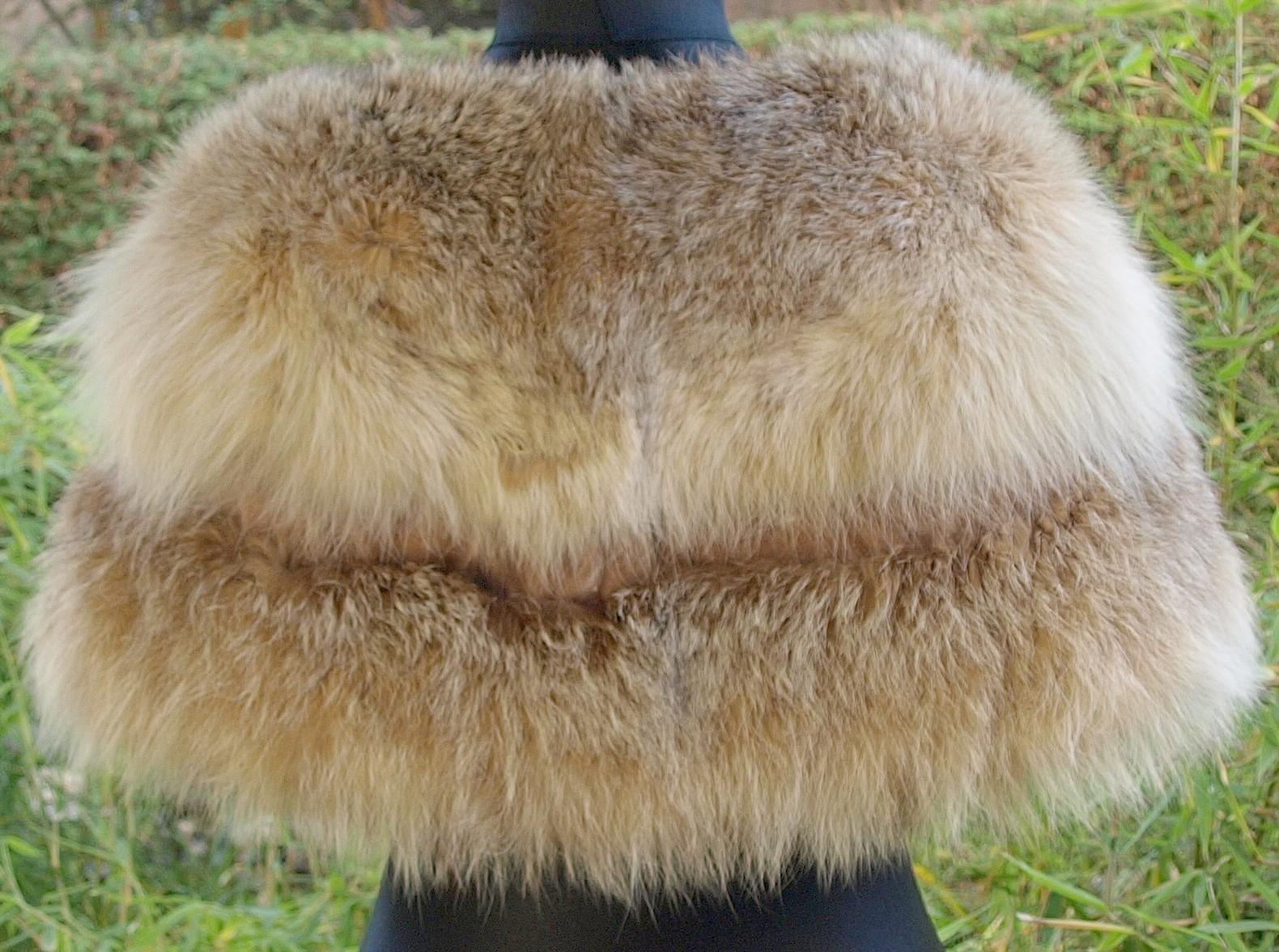 Lynx Fur Collar