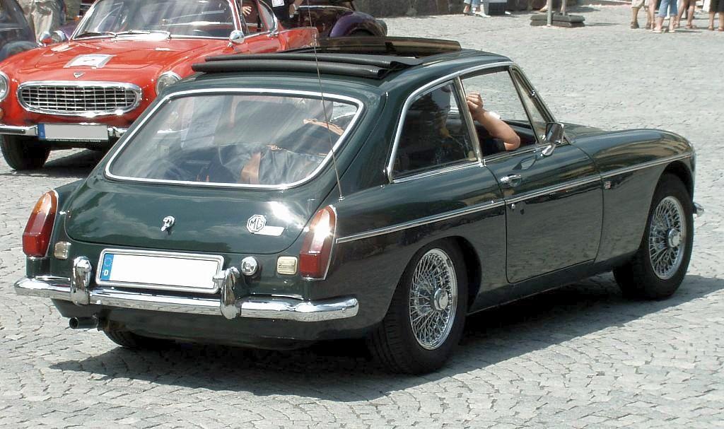 Old Mg Cars