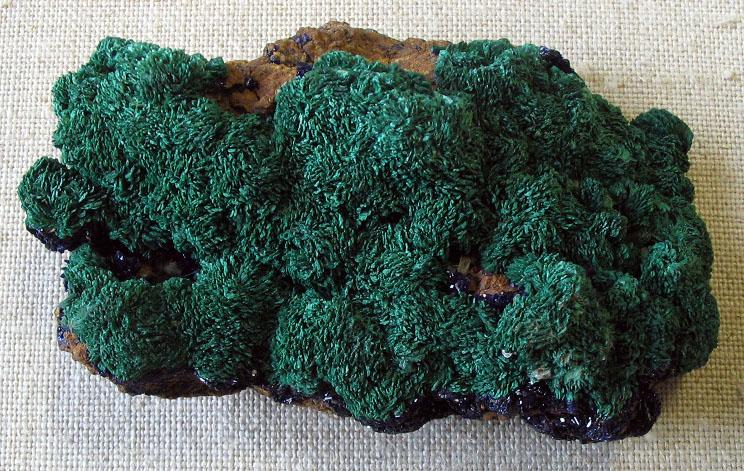 Malachite platy crystals.jpg