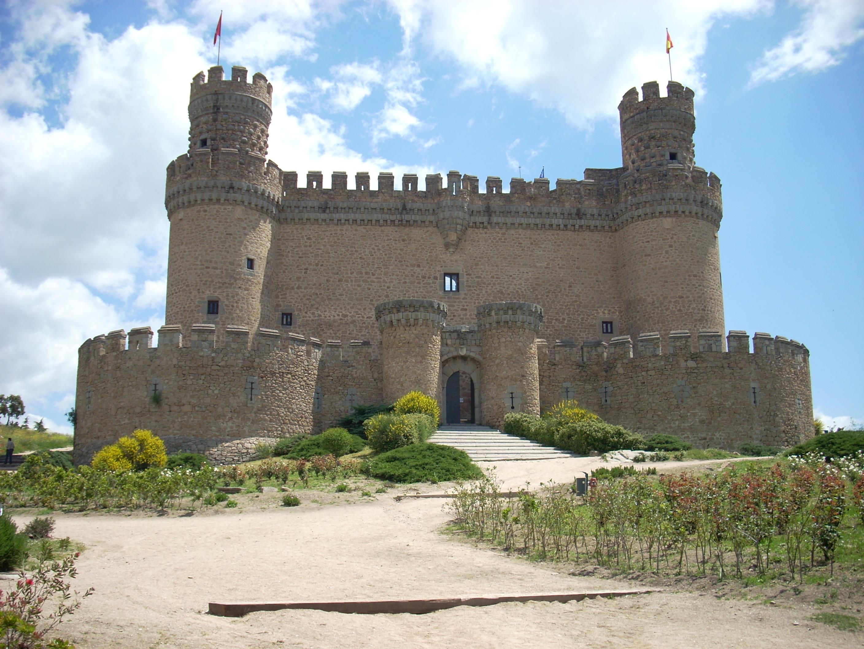 File manzanares el real castillo 2 jpg wikimedia commons - Casa en manzanares el real ...