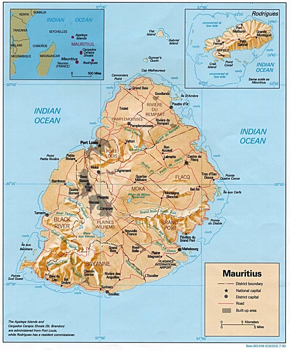 Carte Reunion Maurice.Geographie De Maurice Wikipedia