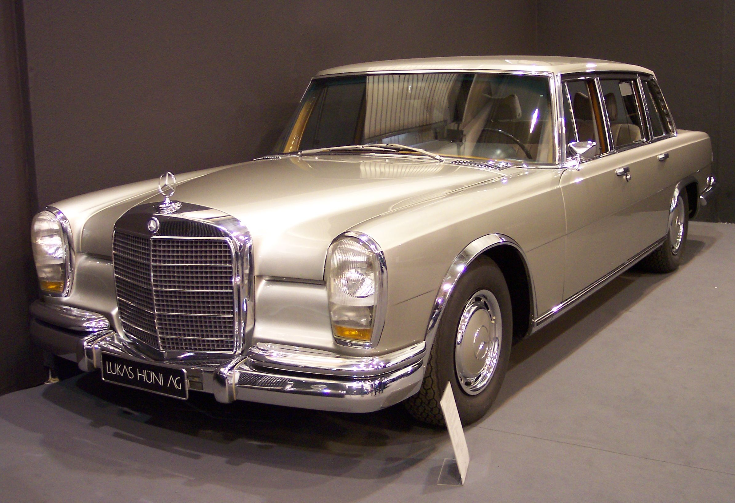 Mercedes Benz 600 Wikipedia