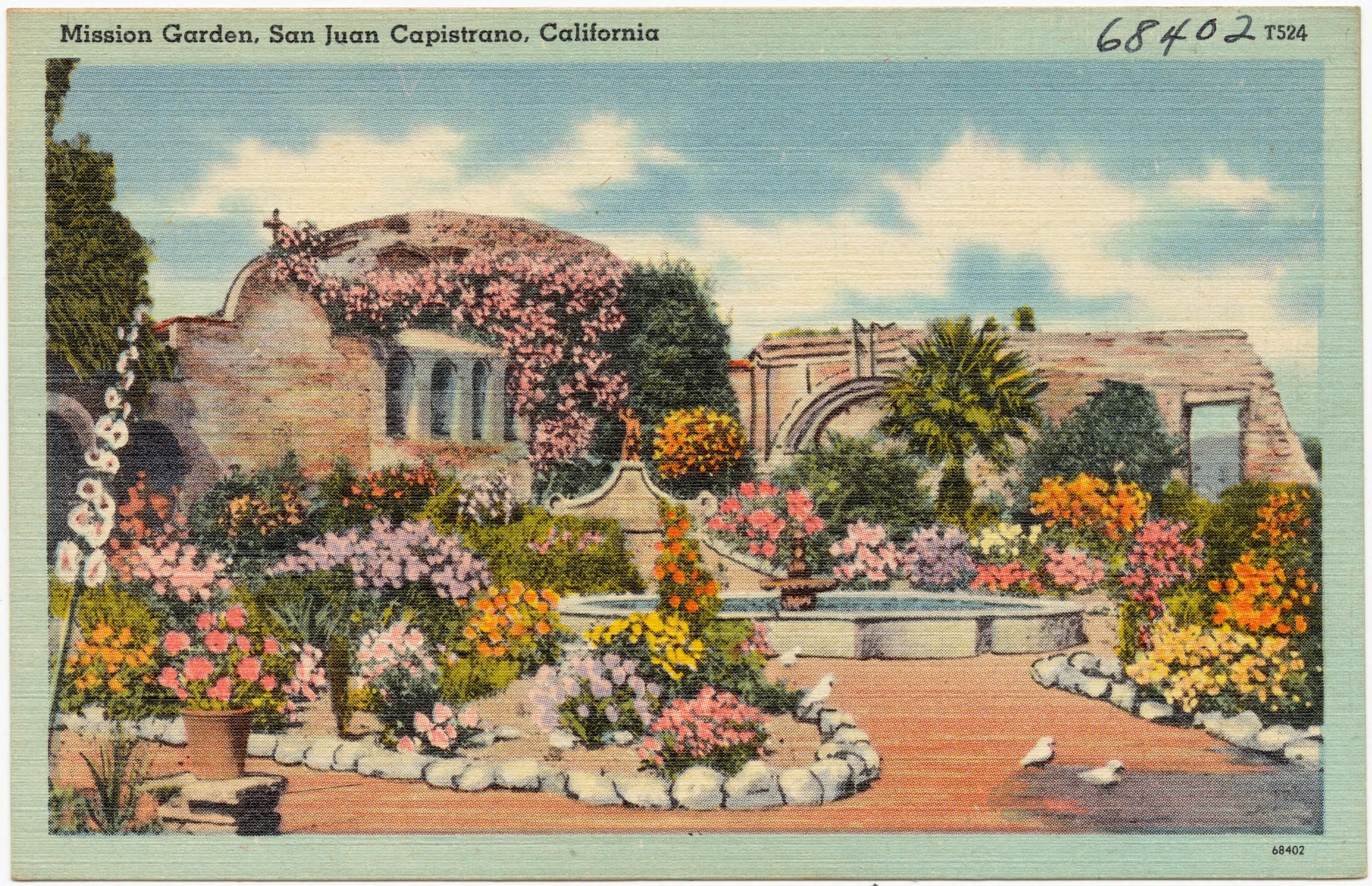 File:Mission Garden, San Juan Capistrano, California (68402).jpg ...
