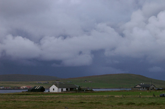File:Moody sky over Ordale, Baltasound - geograph.org.uk - 987902.jpg