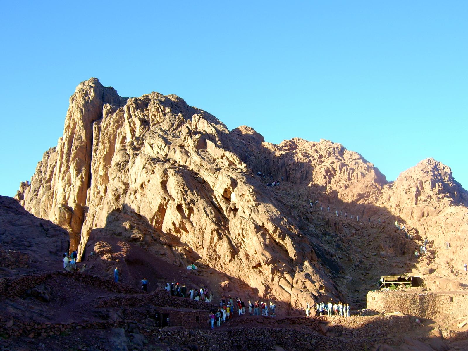 Synaj (góra) – Wikipedia, wolna encyklopedia