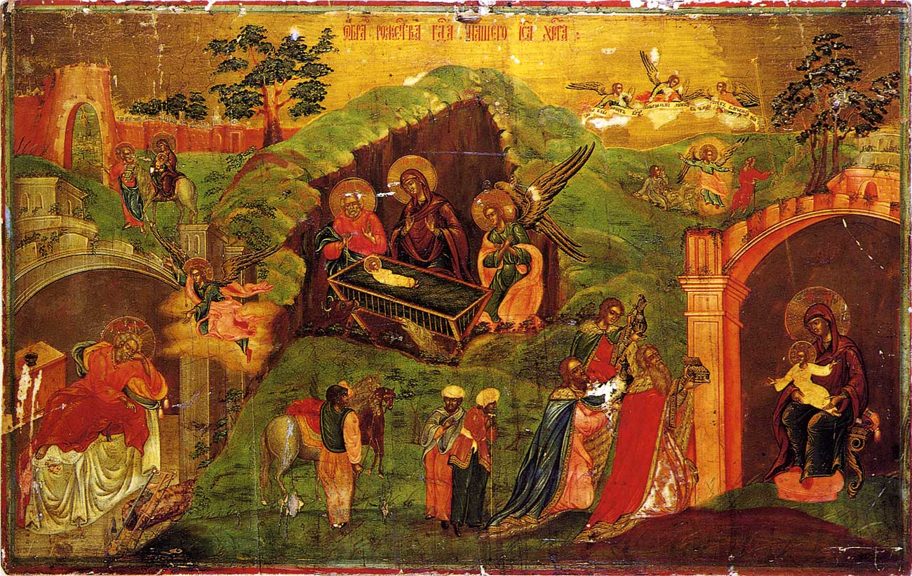 File:Nativity and adoration of the Magi.jpg - Wikimedia Commons: https://commons.wikimedia.org/wiki/File:Nativity_and_adoration_of...