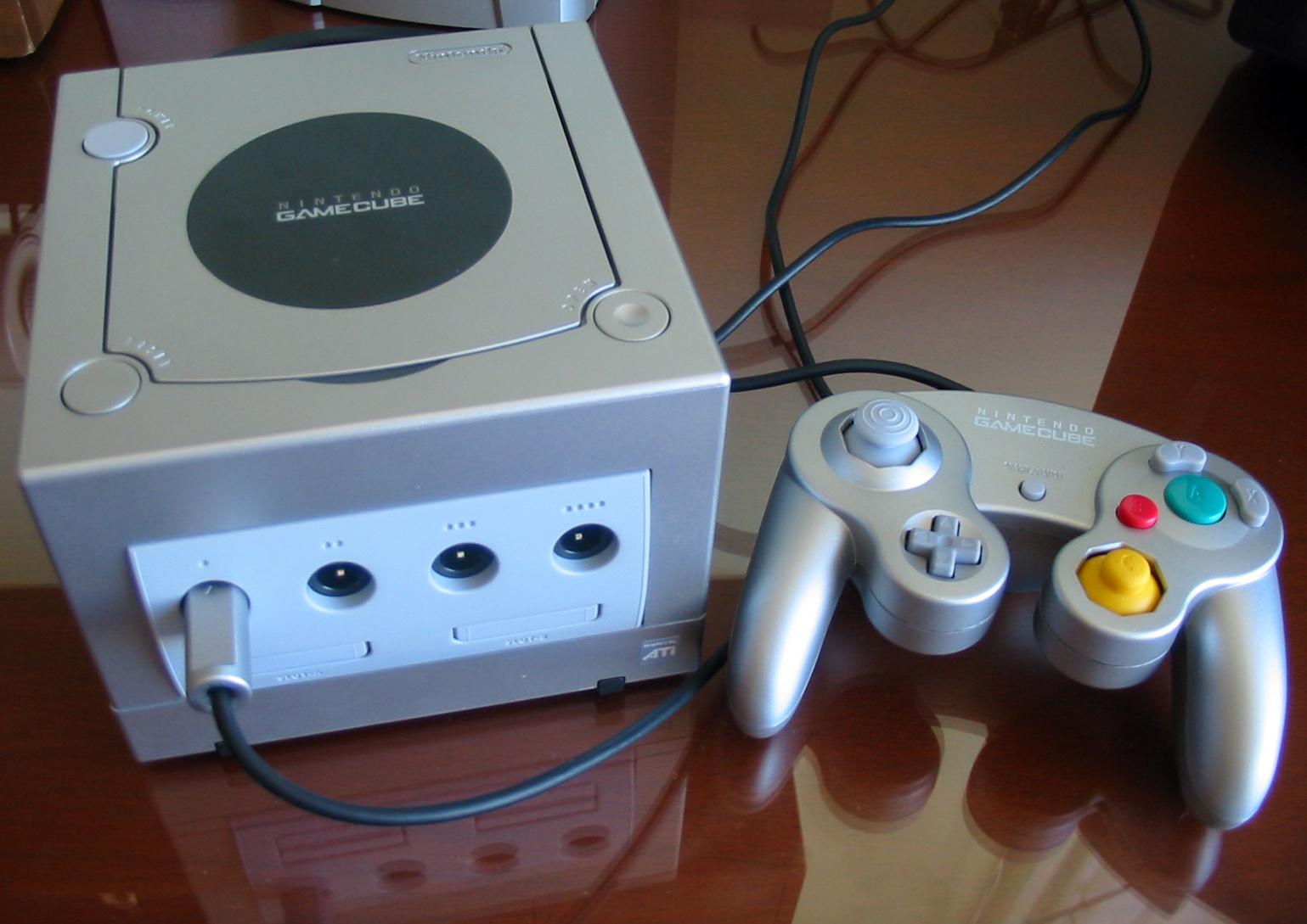 File:Nintendo Gamecube Silver.JPG - Wikimedia Commons