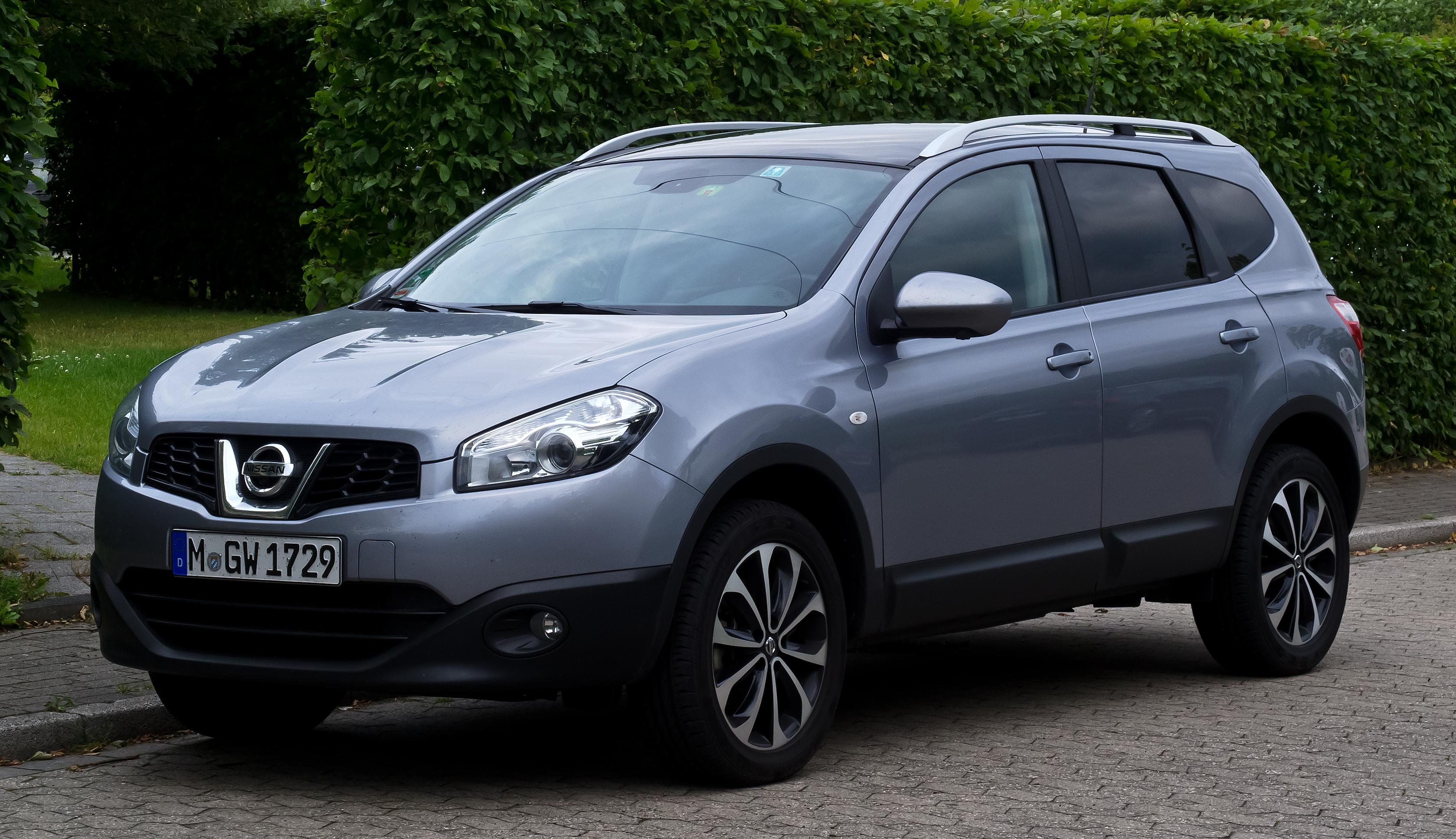 File:Nissan Qashqai+2 (Facelift) – Frontansicht, 8. Juli ...