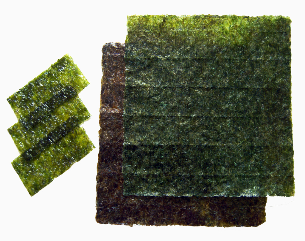 Nori to avoid iodine deficiency