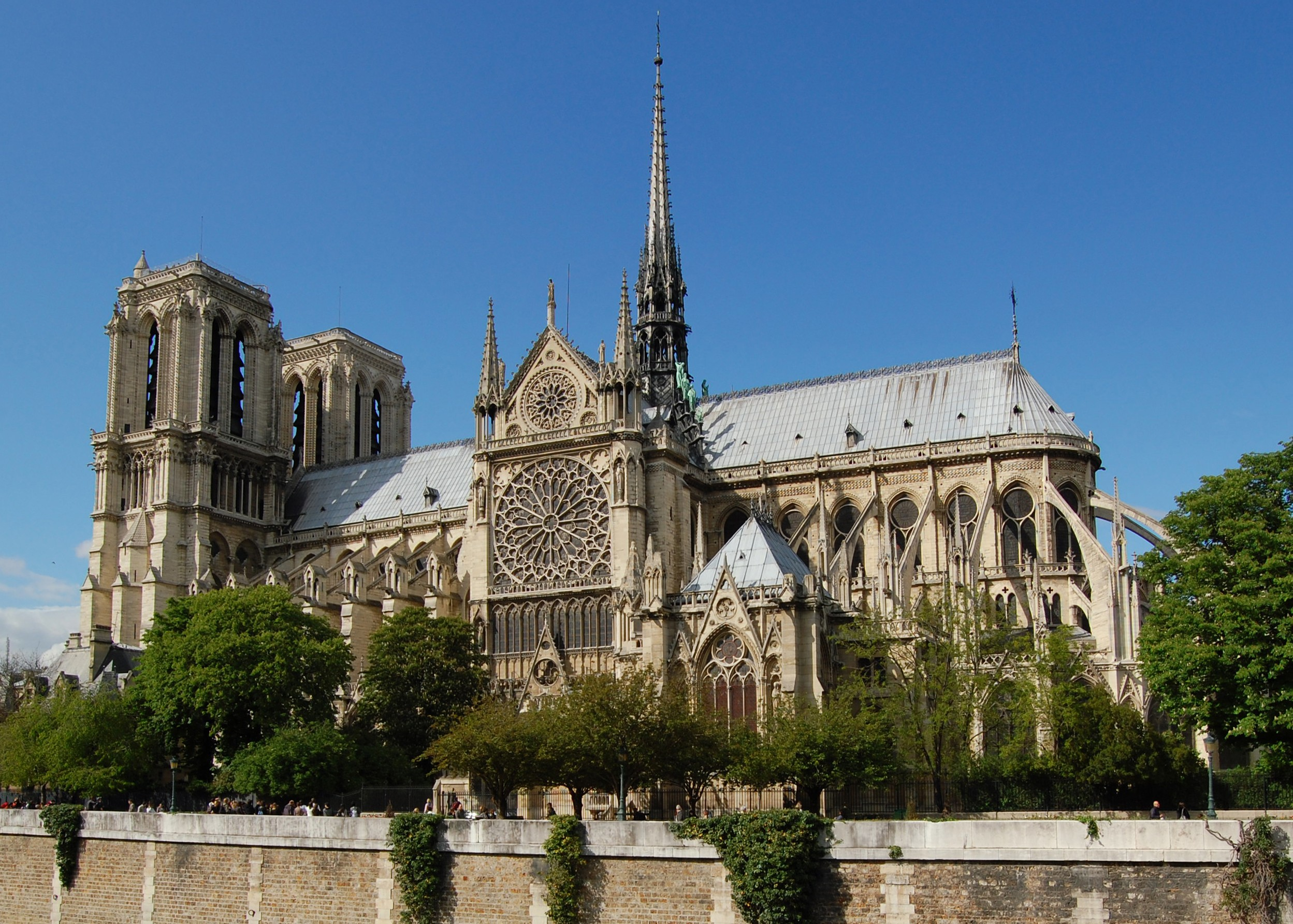 File notre dame dalla senna wikimedia commons for Parigi wallpaper