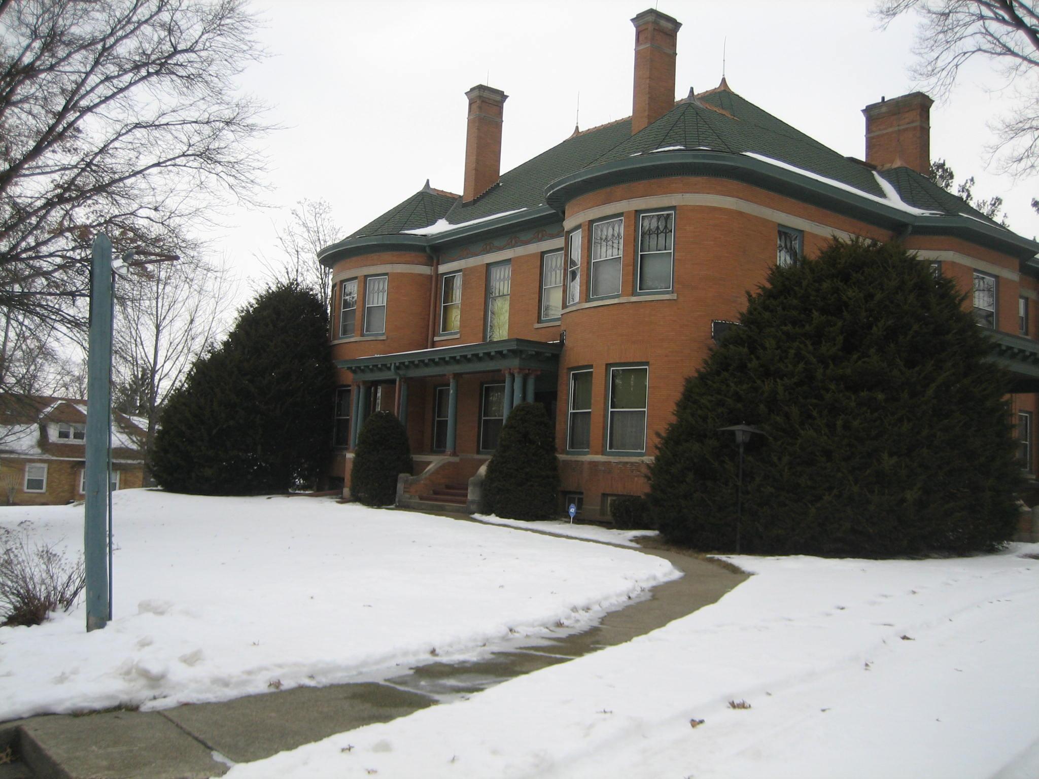 Illinois ogle county polo - File Ogle County Polo Il H D Barber House3 Jpg