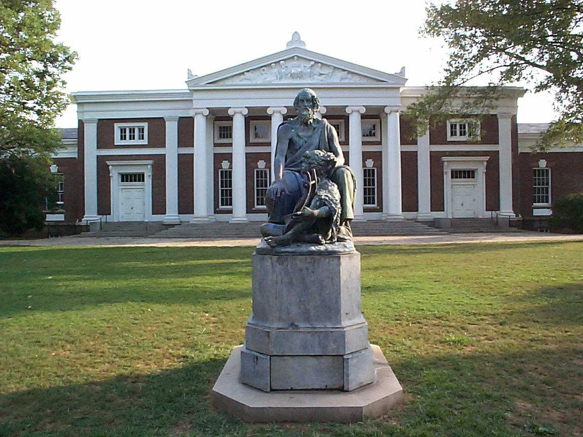 ... Cabell Hall and Homer University of Virginia.jpg - Wikimedia Commons