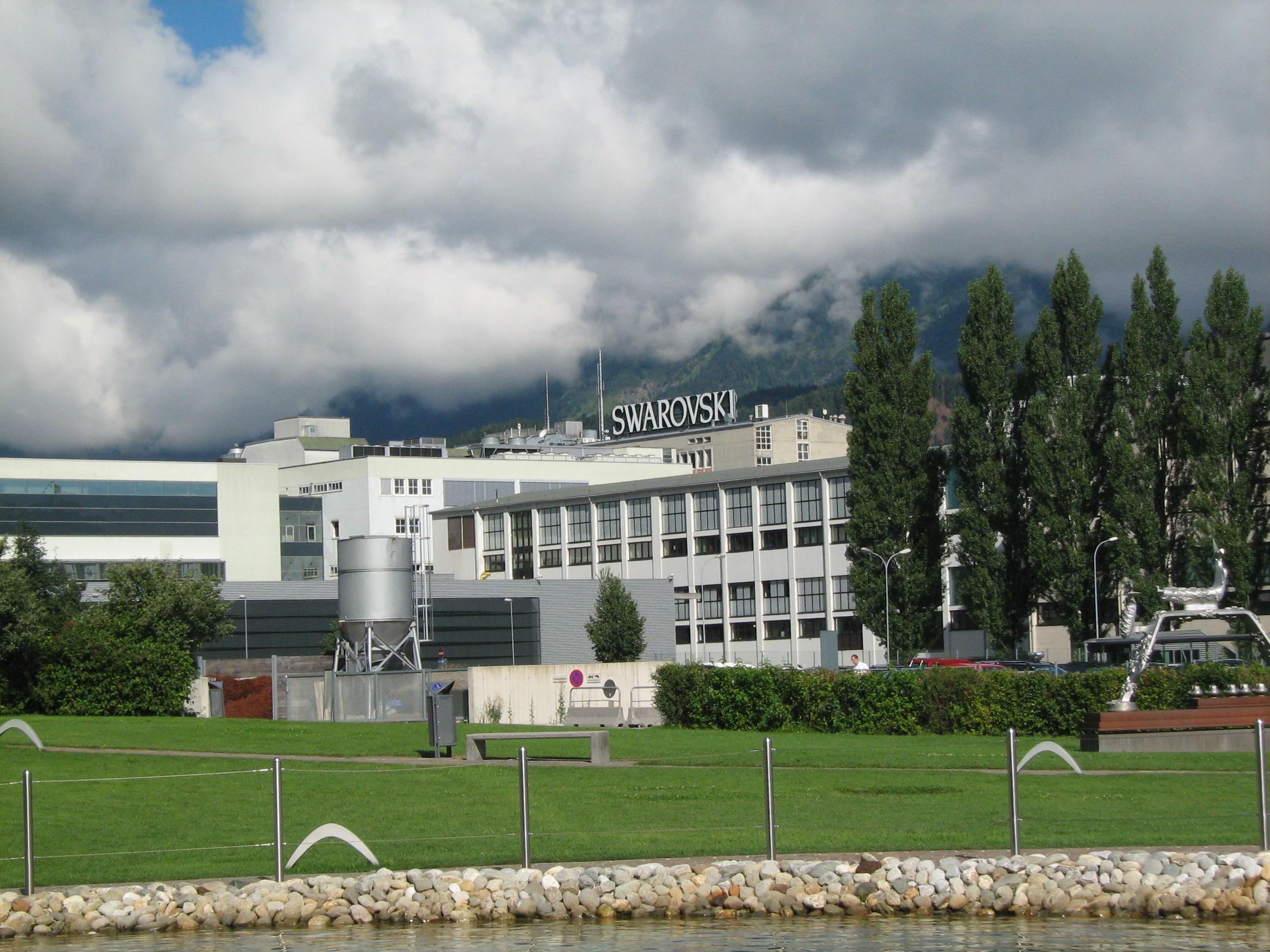 Swarovski施華洛世奇瓦滕斯的工廠
