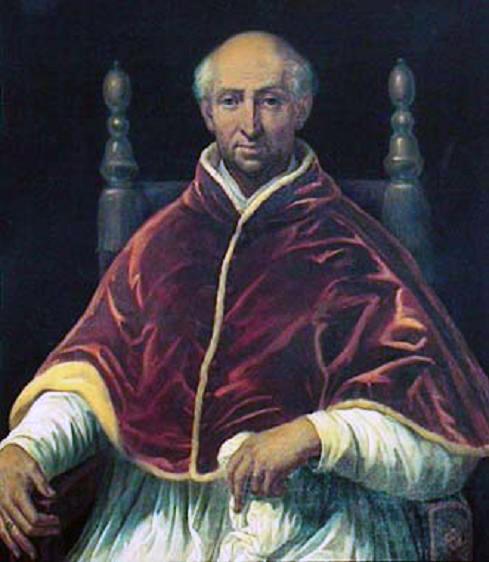 Depiction of Clemente VI