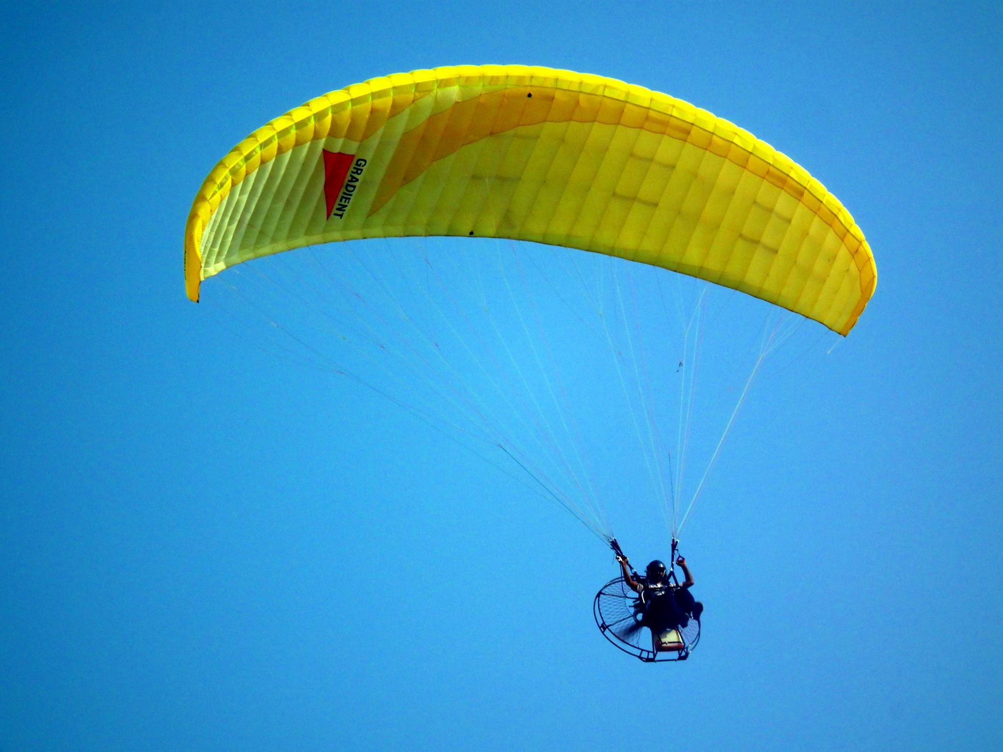 File Paraglider at Cherai Beach Kerala 1 on aircraft wallpaper
