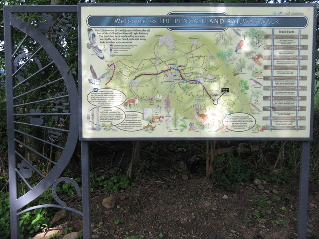 Pencaitland Railway Walk - geograph.org.uk - 895548