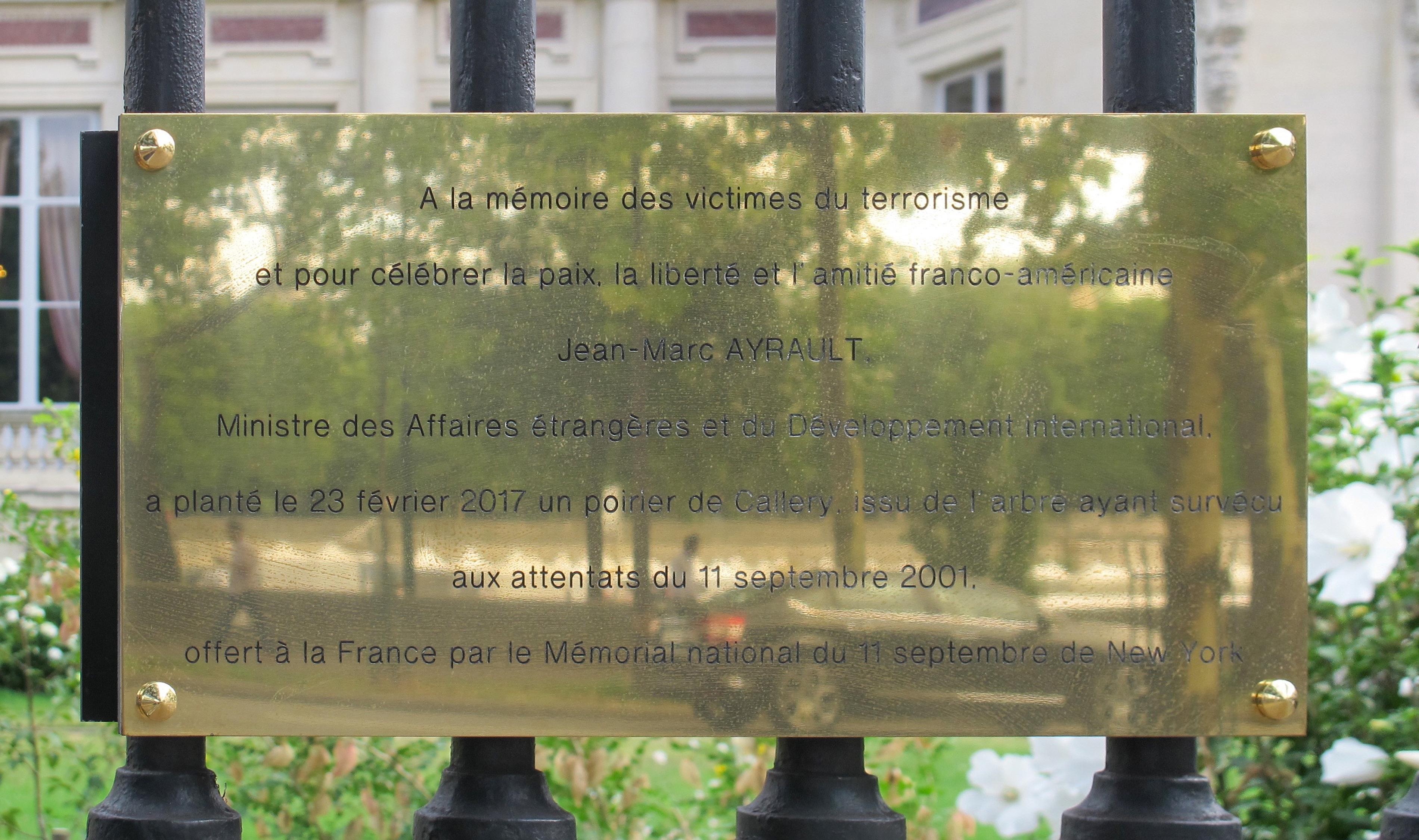 Plante A Planter En Septembre file:plaque terrorisme quai d'orsay - wikimedia commons