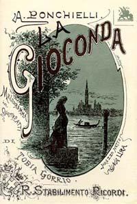Resultado de imagem para estreia em milão a ópera gioconda