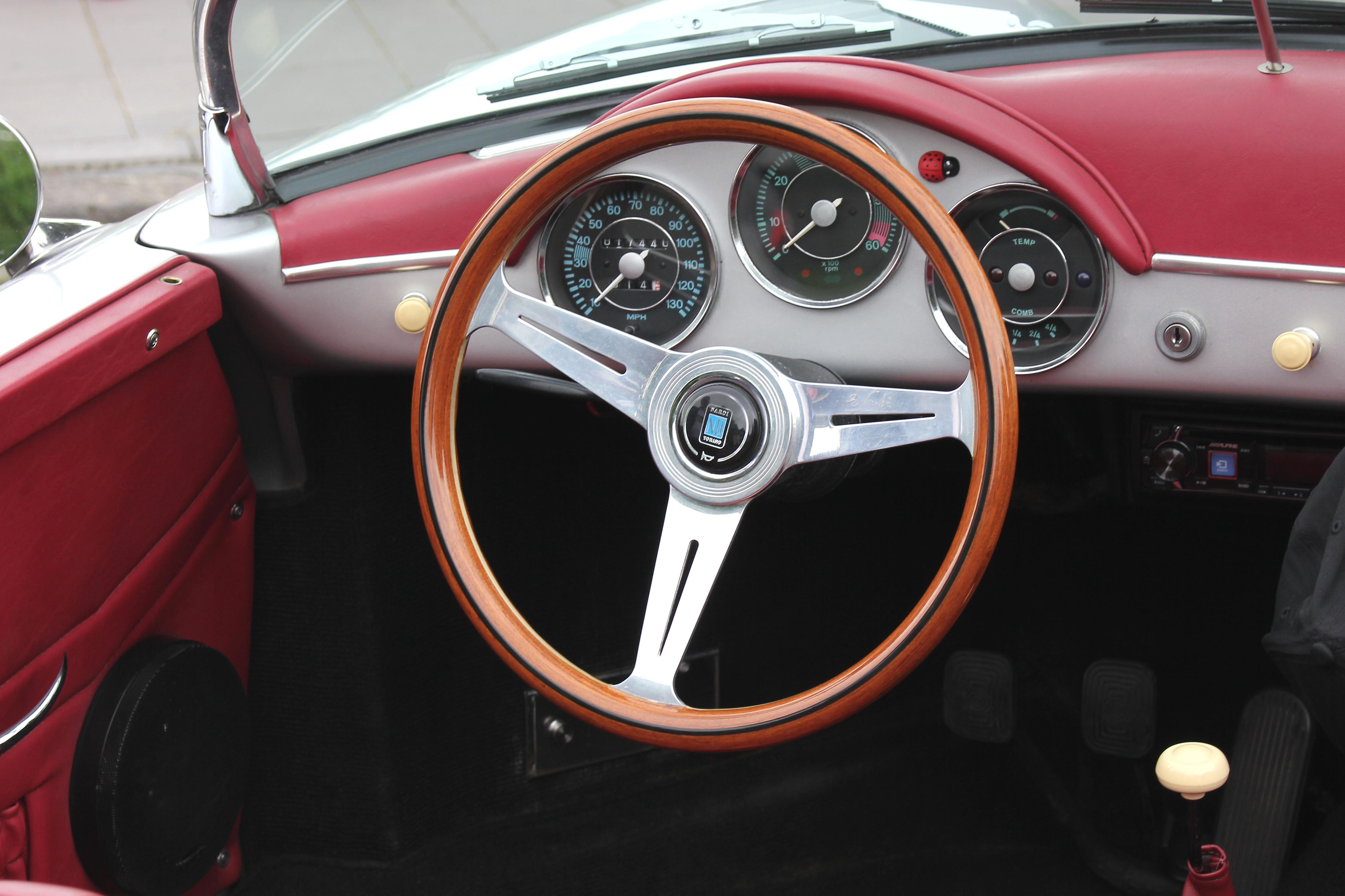 File Porsche 356 A Speedster Bj 1956 Nardi Lenkrad