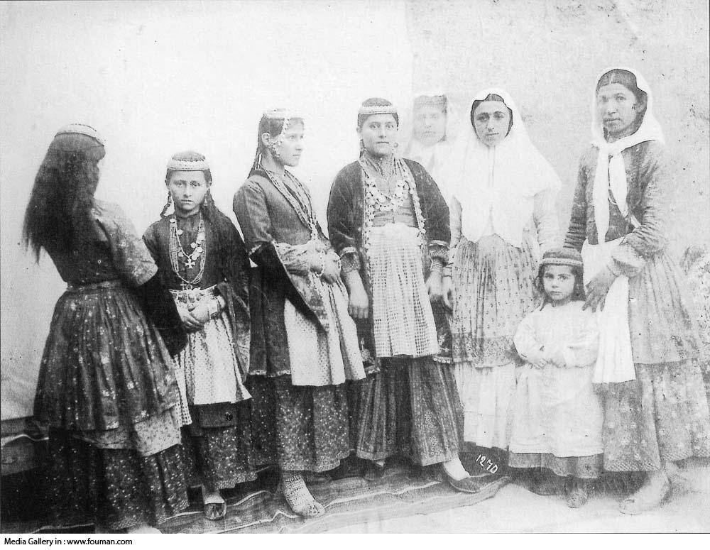 Armenian women and black men