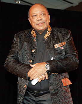 English: Bandleader Quincy Jones in 2008
