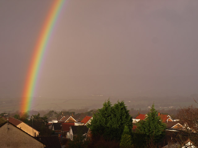 File:Rainbow and Roofs - geograph.org.uk - 1596996.jpg