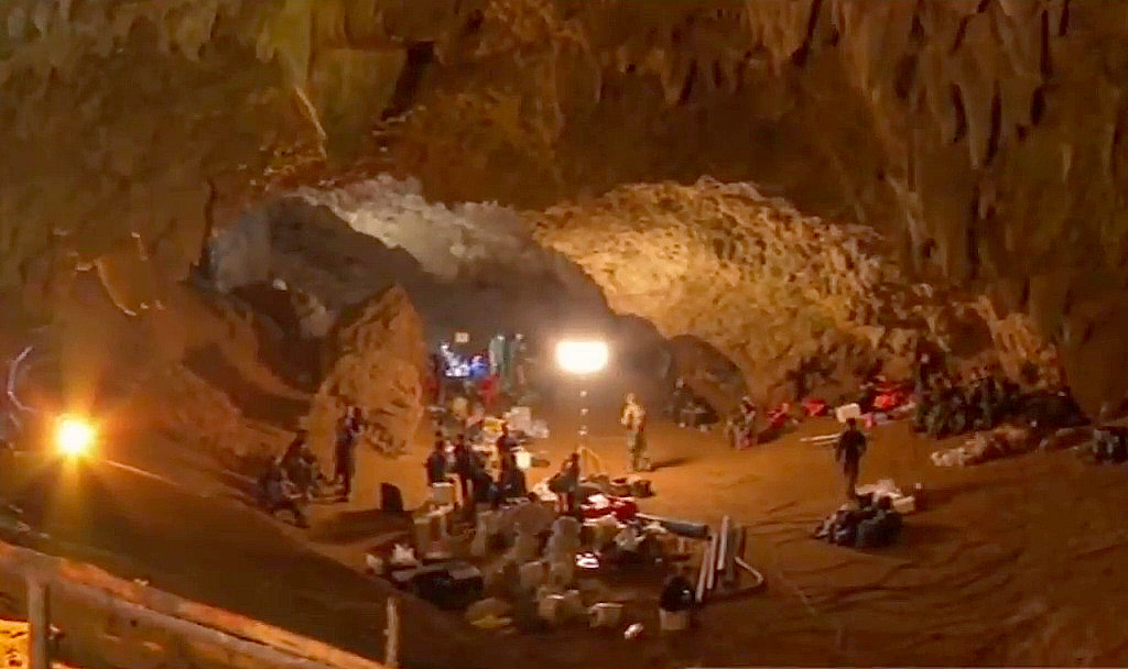 Image result for thailand-cave-rescue-second-day-live-updates