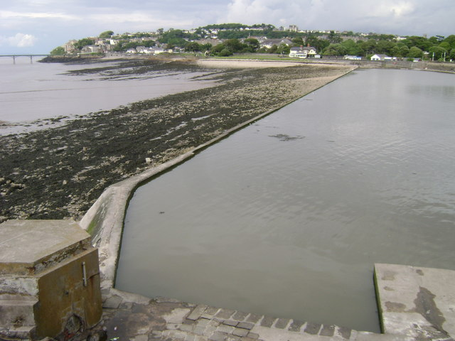 Salthouse Bay and the Marine Lake, Clevedon - geograph.org.uk - 1351729