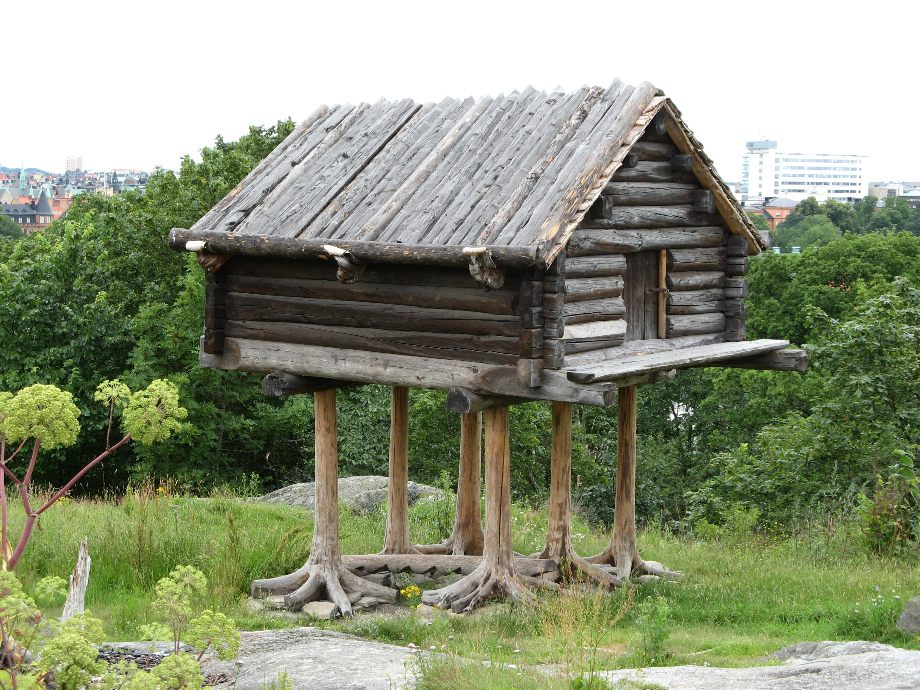 File sami wikimedia commons for 5 structural types of log homes