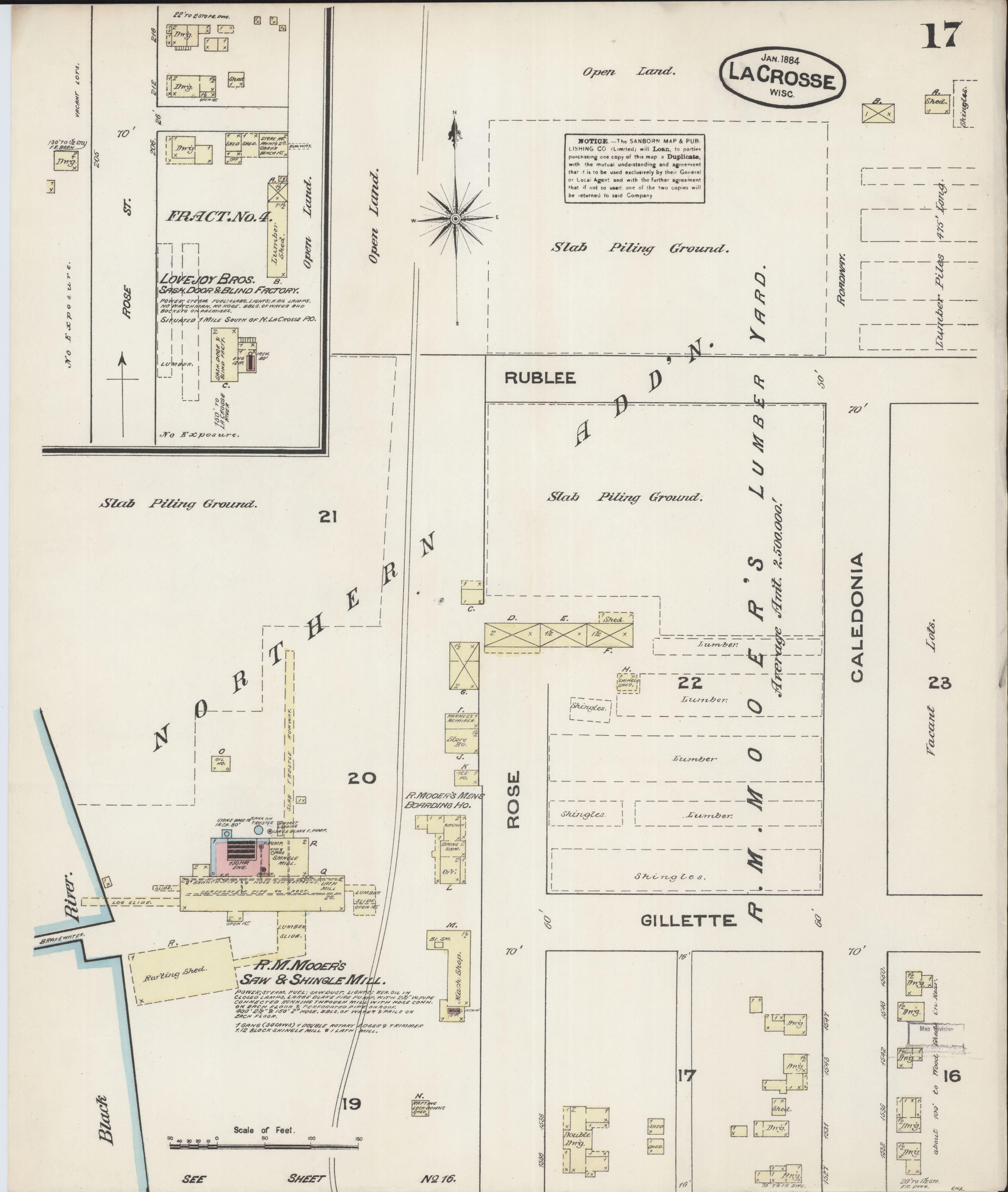 File Sanborn Fire Insurance Map From La Crosse La Crosse County