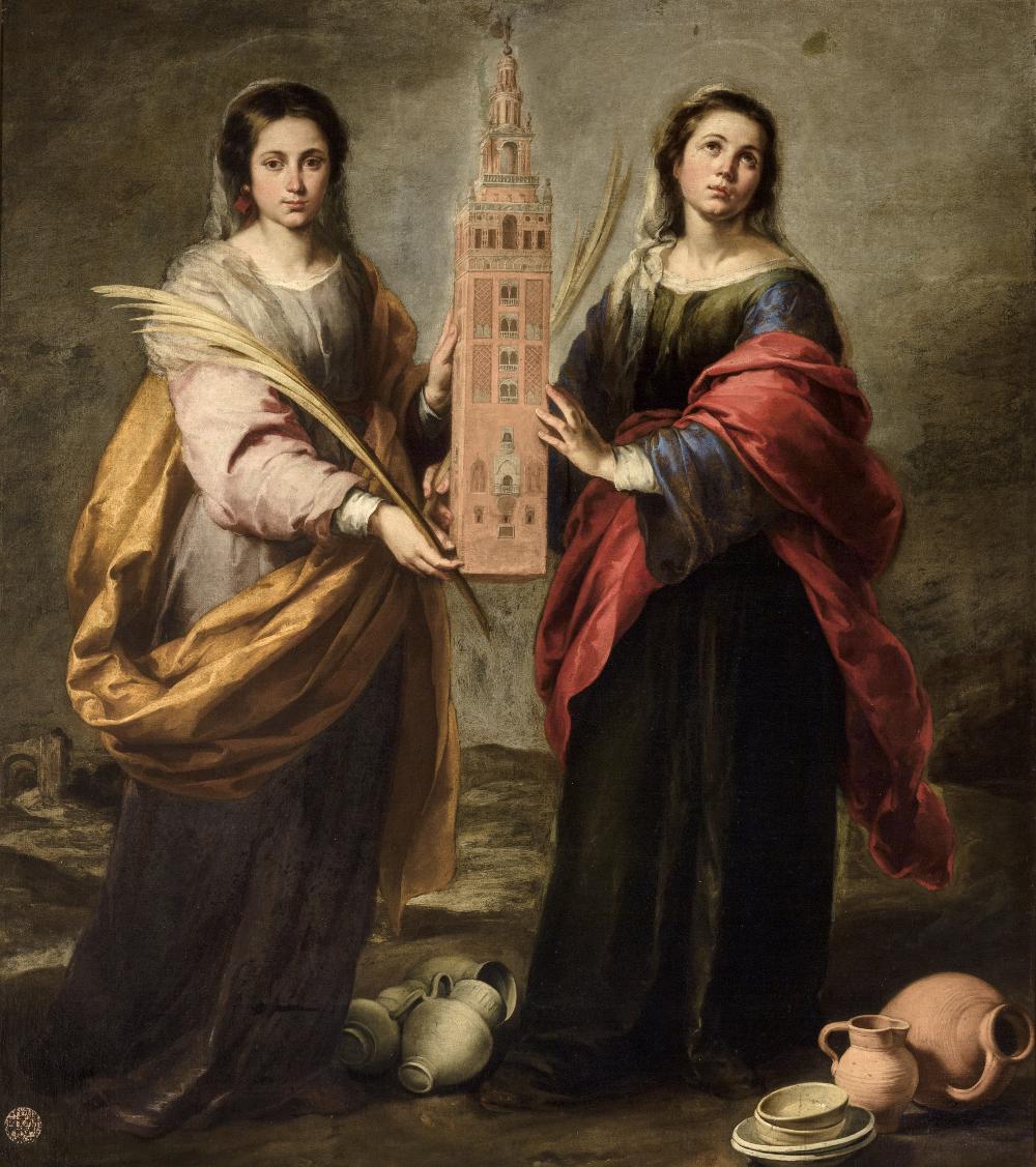 Αποτέλεσμα εικόνας για santa justa y santa rufina