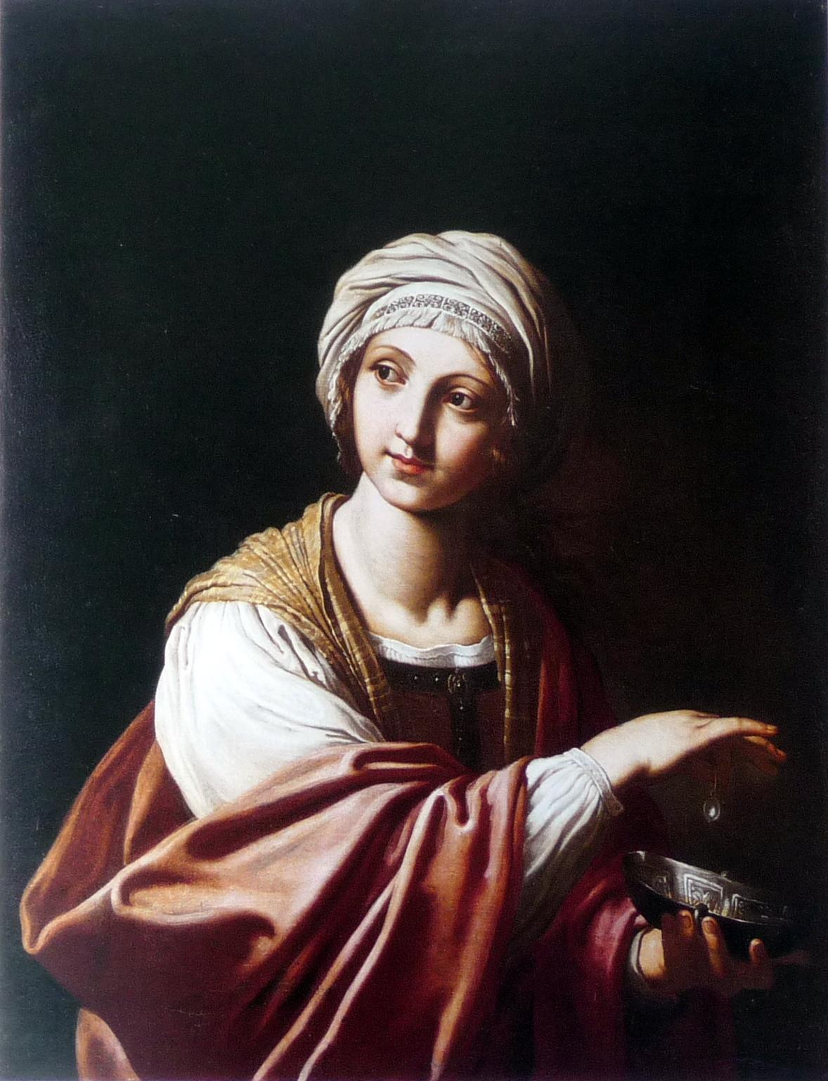 Cleopatra di Elisabetta Sirani