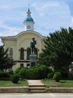 Old Caswell County Courthouse in Yanceyville