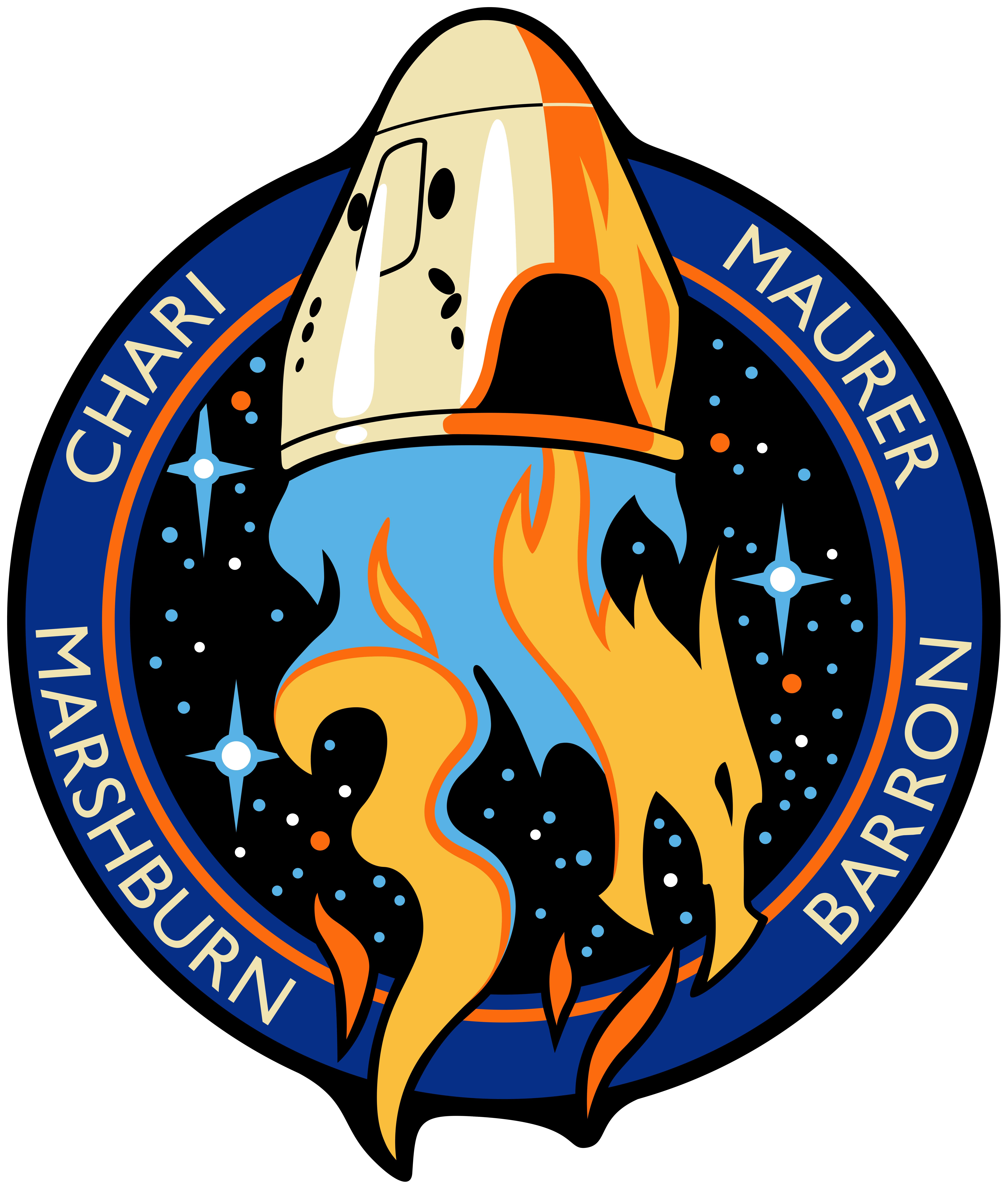 Parche de misión de «Crew-3»