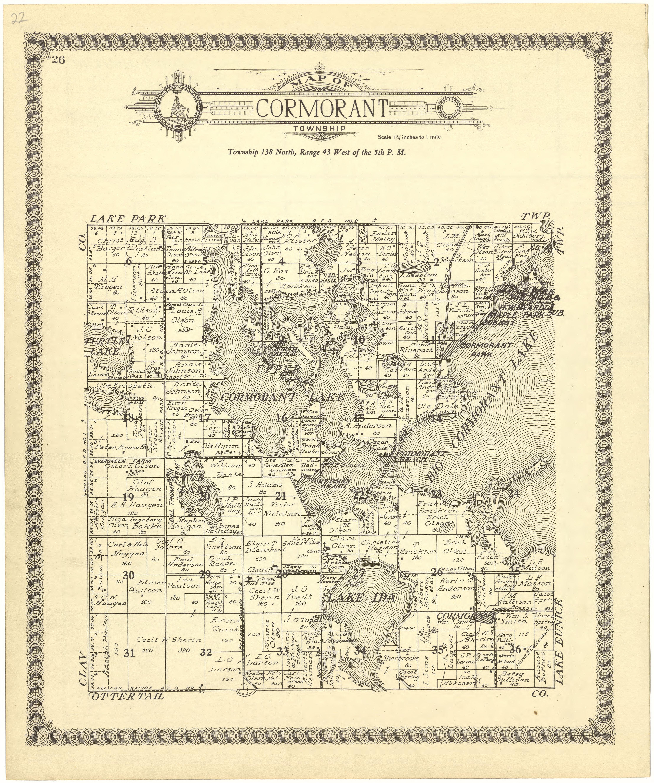 Datei:Standard atlas of Becker County, Minnesota - including ...