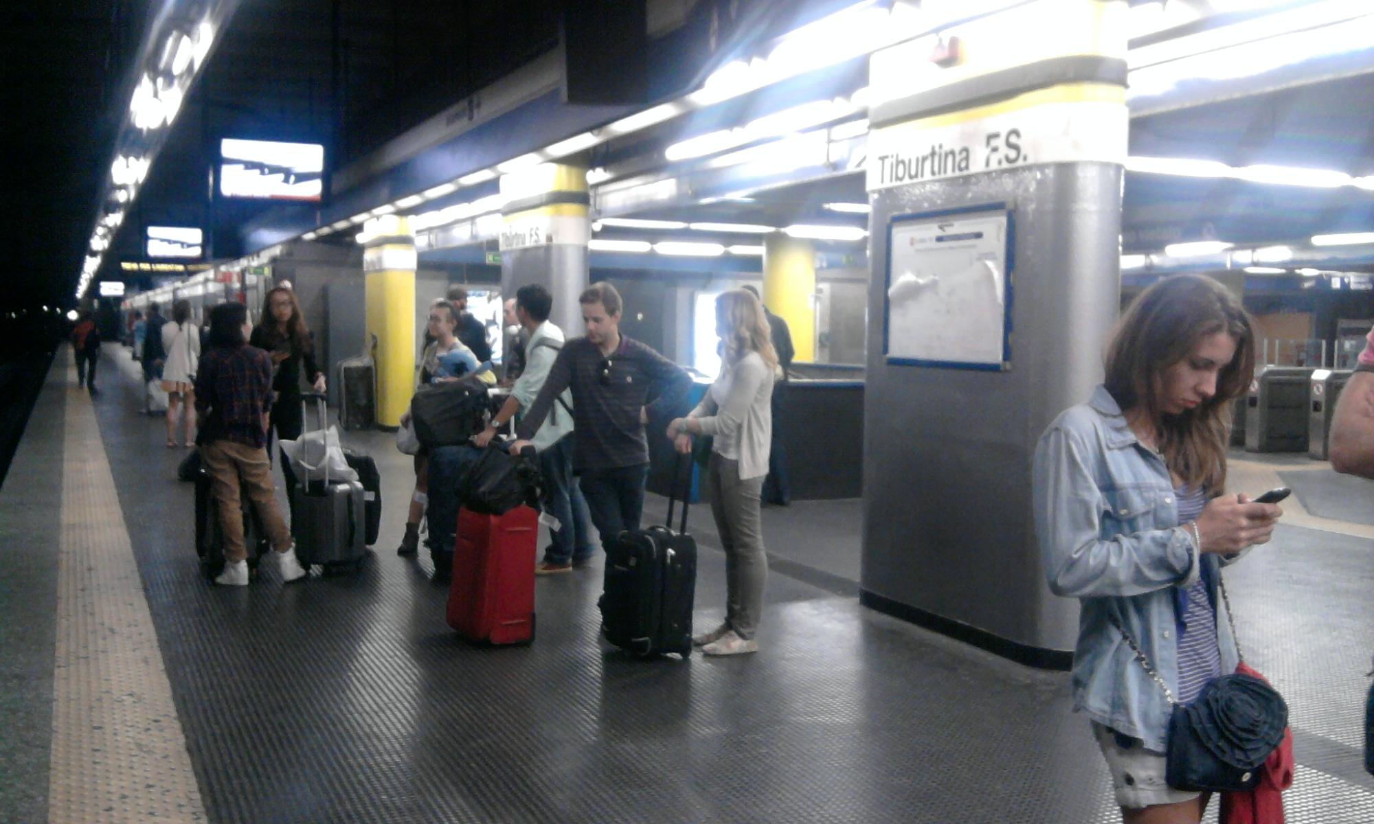 Tiburtina Rome Metro Wikipedia