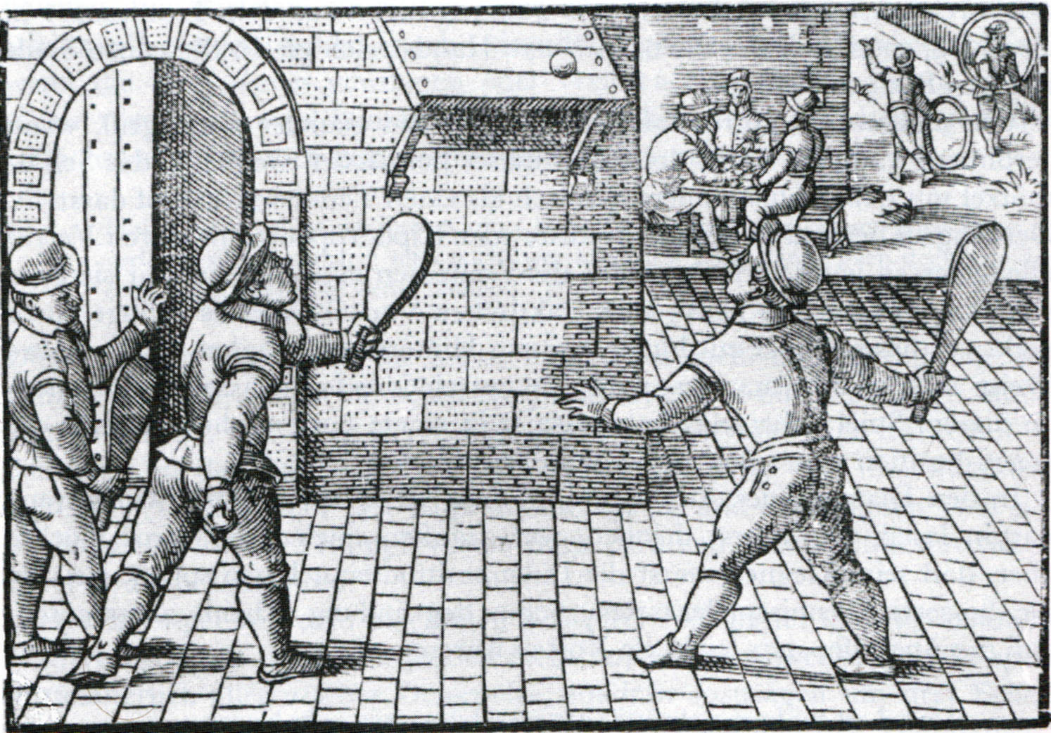 File:Tennis In France, 16th Century  Why Is There Fuzz On A Tennis Ball