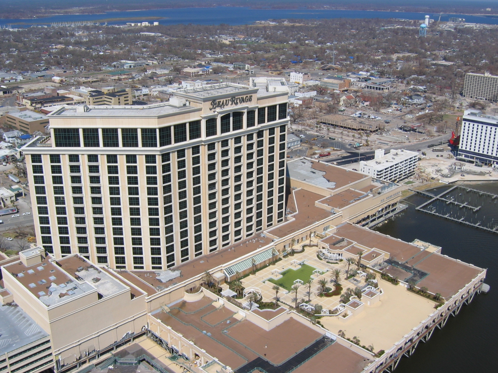 File The Beau Rivage Hotel In Biloxi Mississippi Jpg