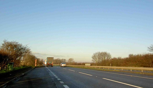 The Foston by pass on the A1 North - geograph.org.uk - 1068397