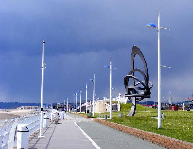 File:The Promenade, Aberavon Beach, Port Talbot - geograph.org.uk - 1853730.jpg