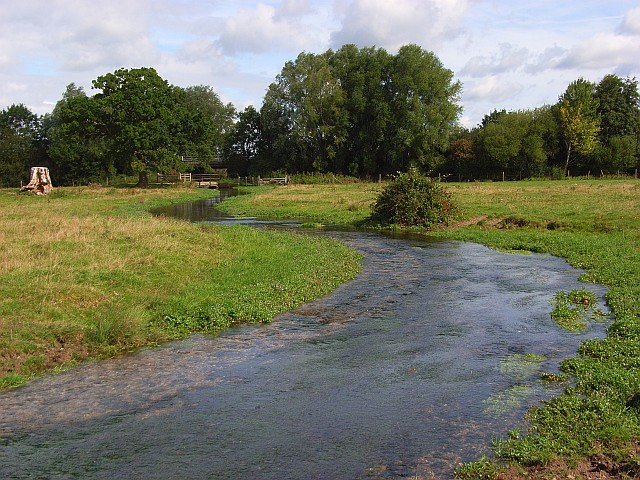 The River Whitewater - geograph.org.uk - 546439