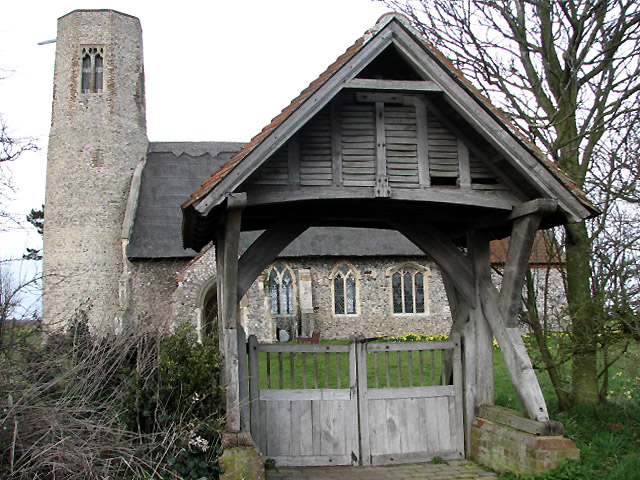 File:The church of All Saints with lych gate - geograph.org.uk - 720054.jpg