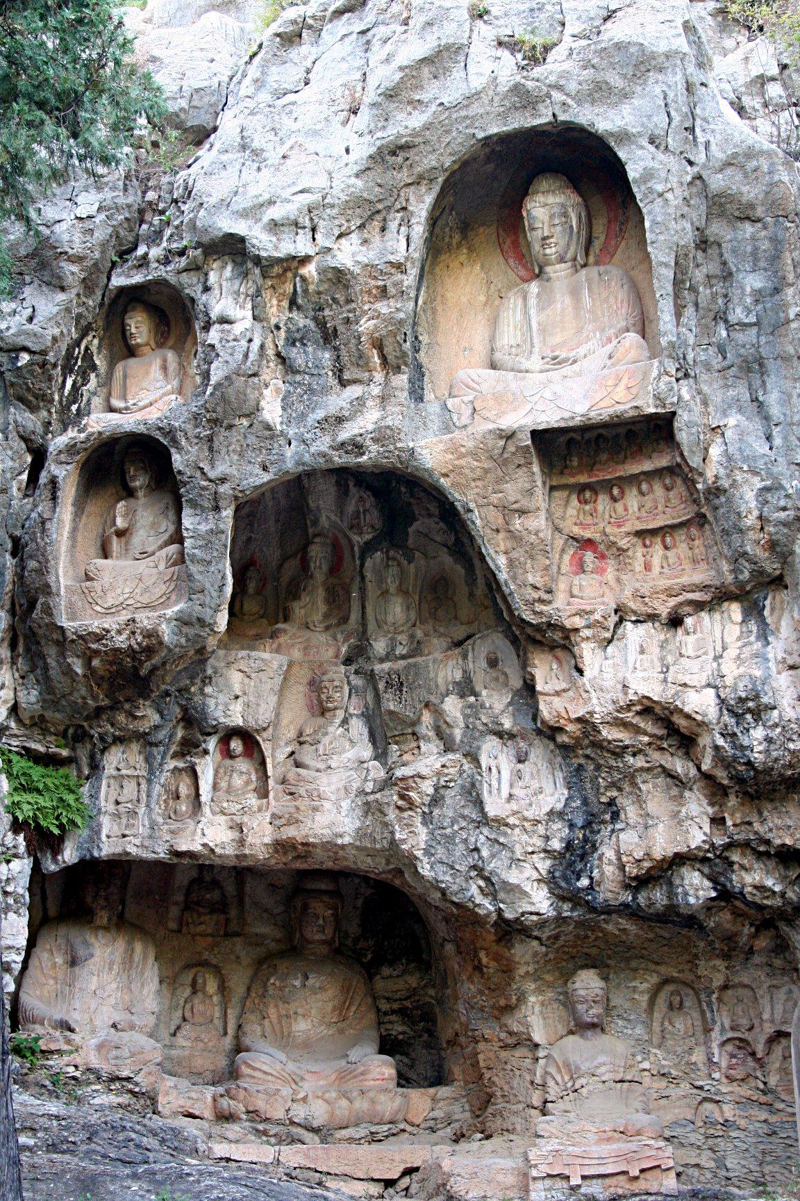 Thousand buddha cliff wikipedia