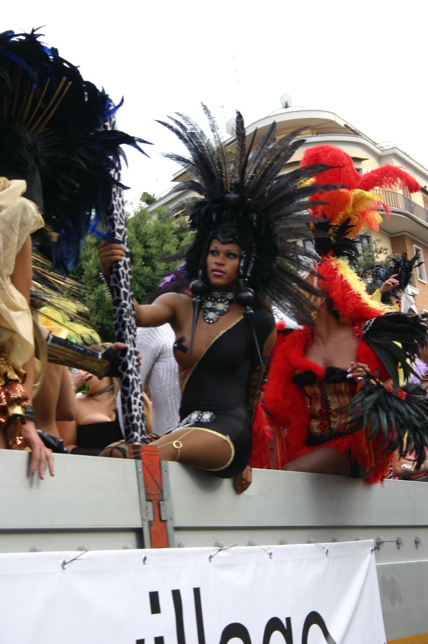 Trans Brasiliana Gay Pride Di Rome 16 6 2008 Foto Giovanni Dall